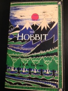 One of my copies of The Hobbit.