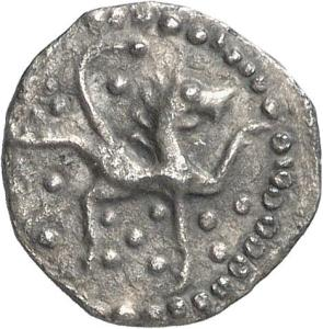 Lion. Silver early penny, King Eadberht of Northumbria (738-58), York mint. CM.1988-2007, De Wit Collection.