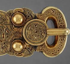 Buckle from Sutton Hoo treasure