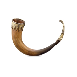 Drinking horn from the British Museum
