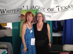 With the marvelous Bernadette Nason.