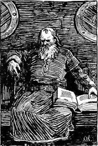 """Snorri Sturluson"" by Christian Krohg (1890s)"