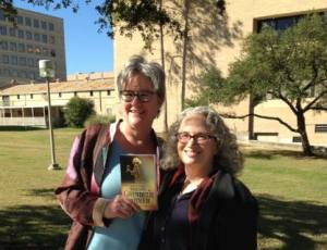 Dr. Claudia Nelson and me on the campus of Texas A&M. Great to see my dear friend!