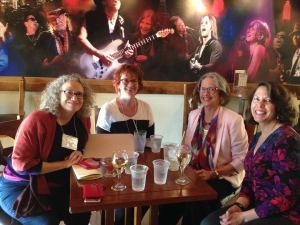 Susan S. Morrison, Jill Kandel, Barbara A Stark-Nemon, and Tammy Hetrick. Photo by Cindy Eastman