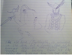 Student of Dutch Anglo-Saxonist drew this great image.